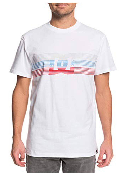 Ανδρική Μπλούζα DC EDYZT04122 Άσπρη
