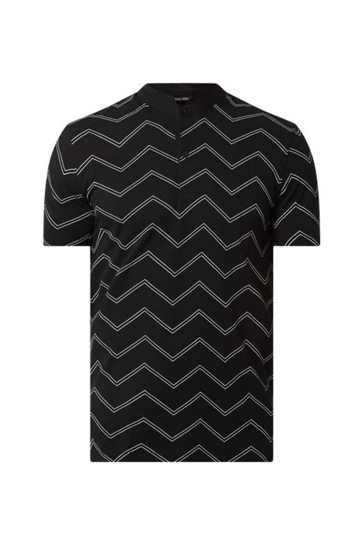 Aνδρική Μπλούζα ANTONY MORATΟ MMKS01800-FA140186 Μαύρη