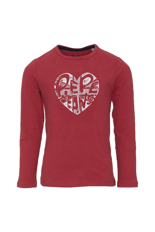 Παιδική Μπλούζα Για Κορίτσι PEPE JEANS PG502300 Κόκκινο