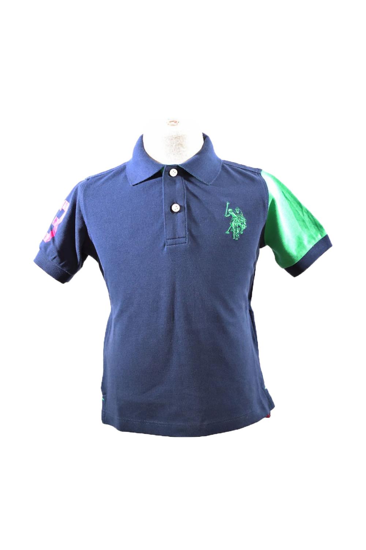 Παιδική Μπλούζα Για Αγόρι U.S. POLO ASSN. 5746541029-177 Μπλε