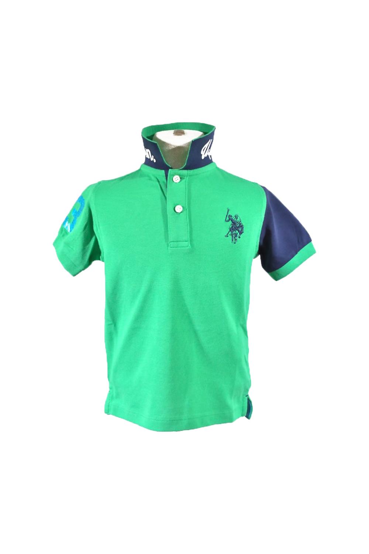 Παιδική Μπλούζα Για Αγόρι U.S. POLO ASSN. 5746541029 Πράσινο