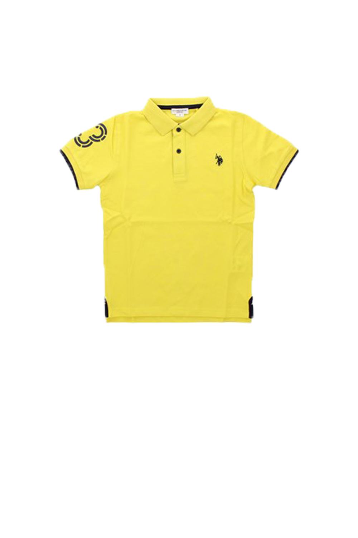 Παιδική Μπλούζα Για Αγόρι U.S. POLO ASSN 5747341029 Κίτρινο