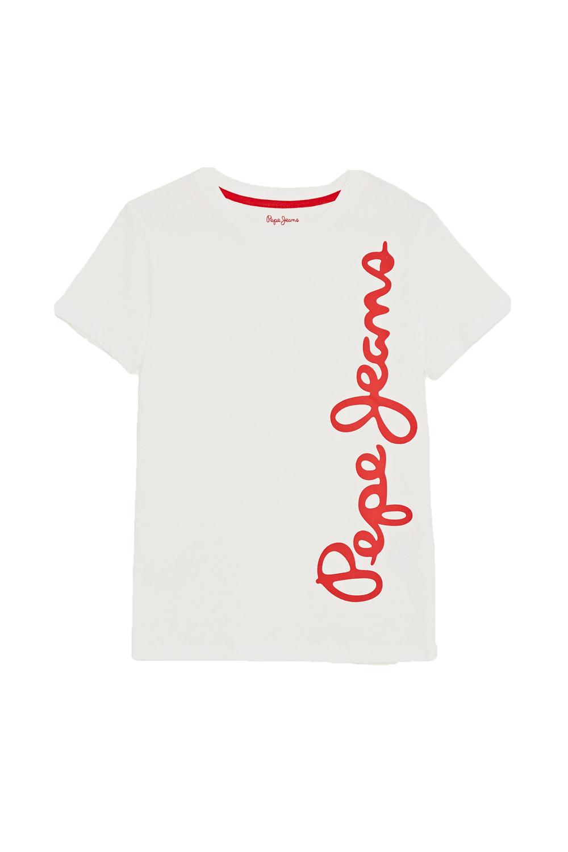 Παιδική Μπλούζα Για Αγόρι PEPE JEANS PB501279 Κόκκινο