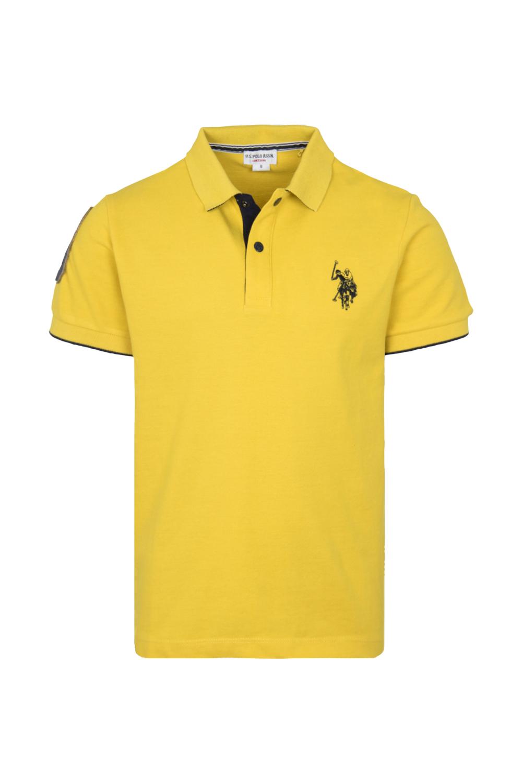 Παιδική Μπλούζα Για Αγόρι U.S. POLO ASSN. 5155341029-111 Κίτρινη