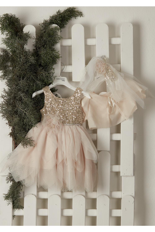 Βαπτιστικό Φόρεμα Για Κορίτσι MAKIS TSELIOS MT-4060
