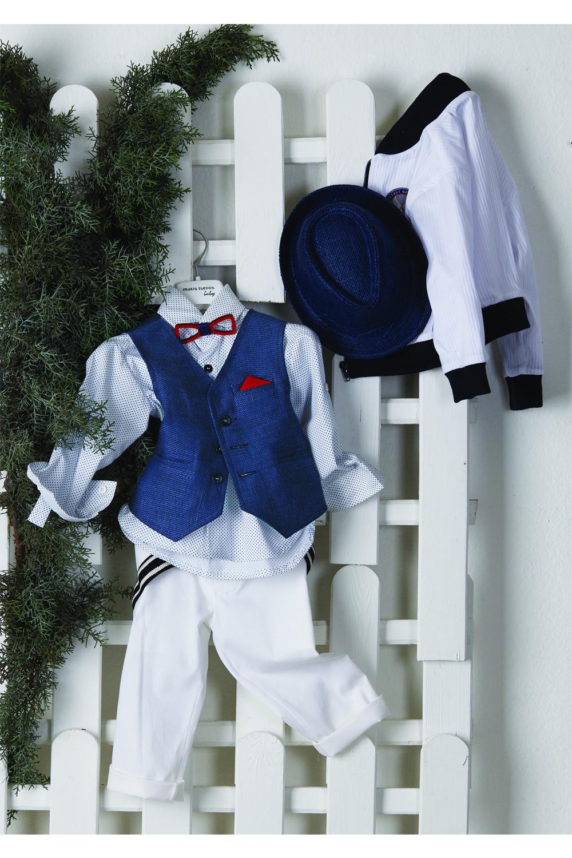 Βαπτιστικό Κουστούμι Για Αγόρι MAKIS TSELIOS MT-4049