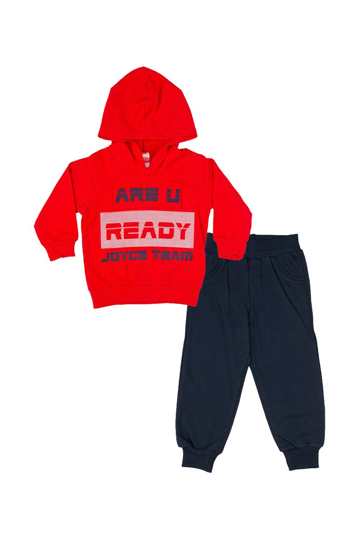 Παιδικό Σετ Φόρμα Για Αγόρι JOYCE 91204 Κόκκινο