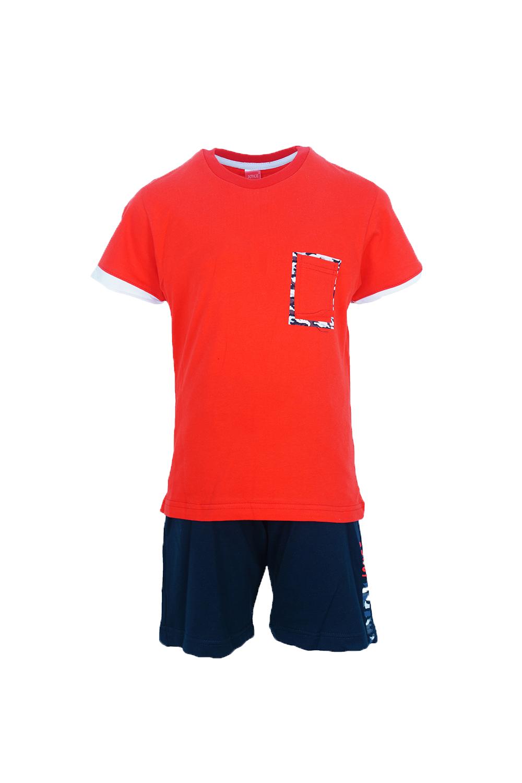 Παιδικό Σετ Σορτς Για Αγόρι JOYCE 201232 Κόκκινο
