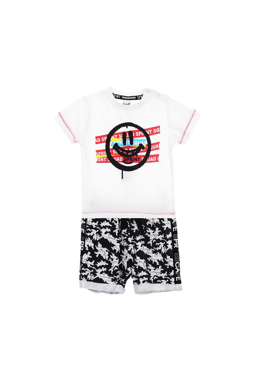 Παιδικό Σετ Σορτς Για Αγόρι SPRINT 22082035 Άσπρο