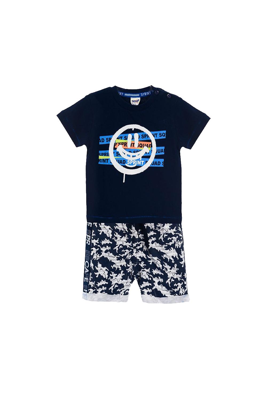 Παιδικό Σετ Σορτς Για Αγόρι SPRINT 22082035 Μπλε