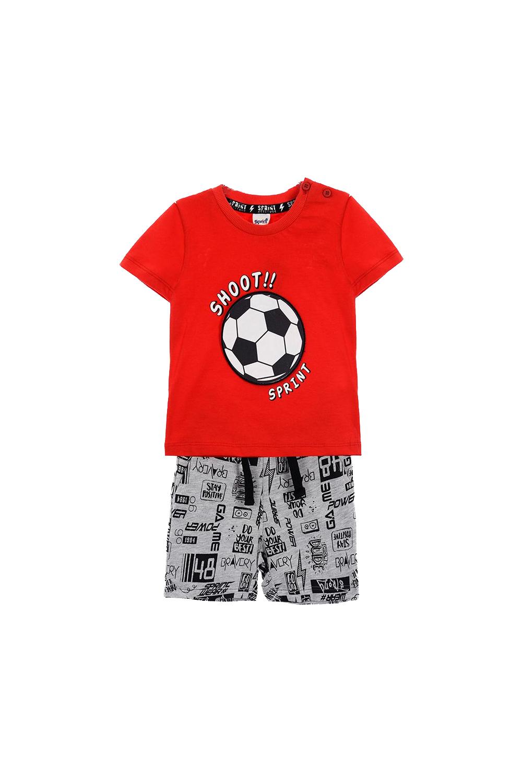 Παιδικό Σετ Σορτς Για Αγόρι SPRINT 22082099 Κόκκινο