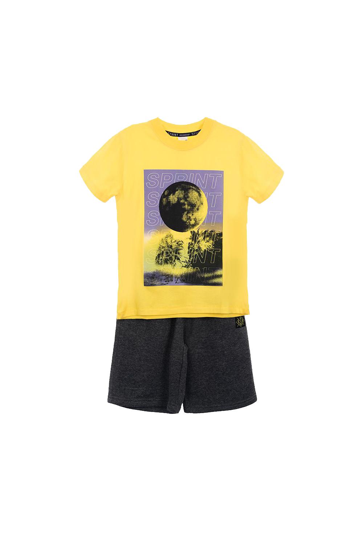 Παιδικό Σετ Βερμούδα Για Αγόρι SPRINT 22081032 Κίτρινο
