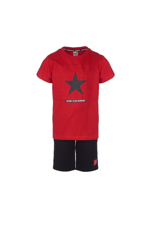 Παιδικό Σετ Βερμούδα Για Αγόρι SPRINT 22081050 Κόκκινο