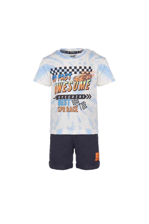 Παιδικό Σετ Βερμούδα Για Αγόρι SPRINT 22082014 Μπλε