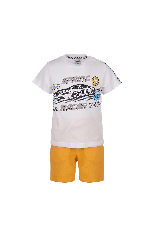 Παιδικό Σετ Βερμούδα Για Αγόρι SPRINT 22082023 Άσπρο