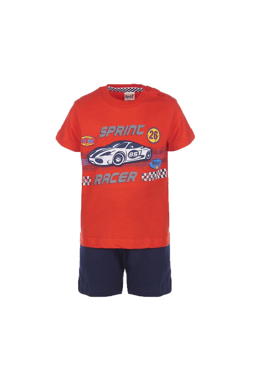Παιδικό Σετ Βερμούδα Για Αγόρι SPRINT 22082023 Κόκκινο