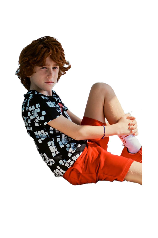 Παιδικό Σετ Βερμούδα Για Αγόρι SPRINT 22081028 Μαύρο