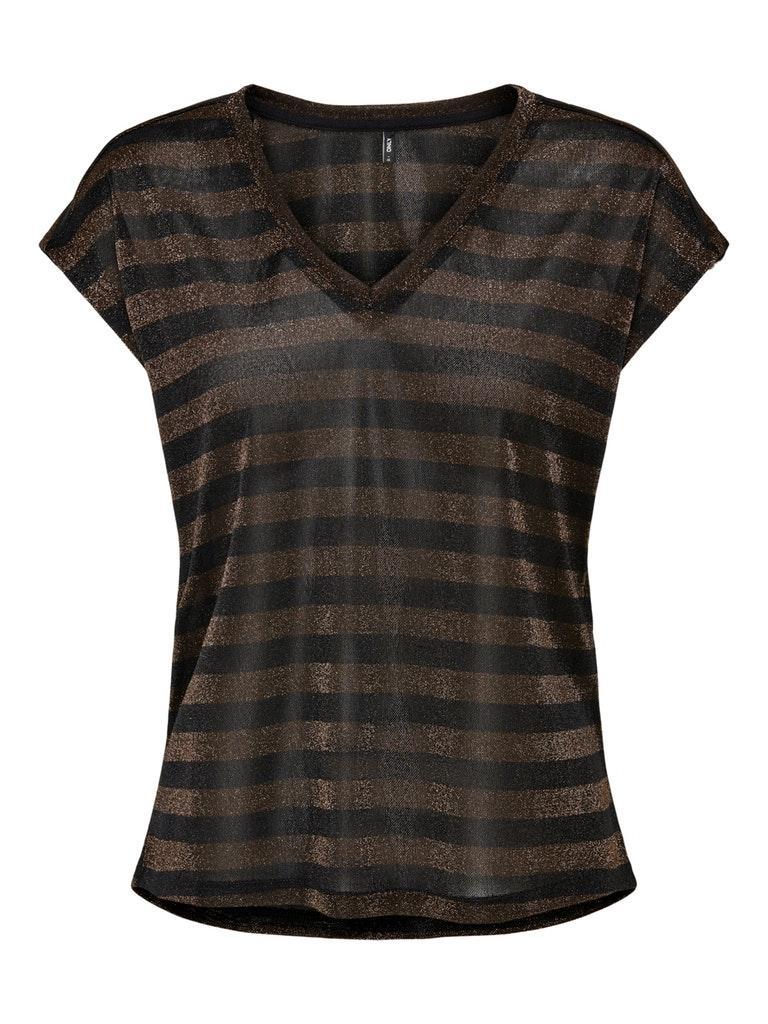 Γυναικεία Μπλούζα ONLY 15216270 Καφέ