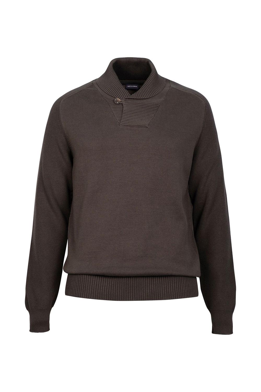 Ανδρική Μπλούζα NAVY&GREEN 24YM.920/SL Χακί