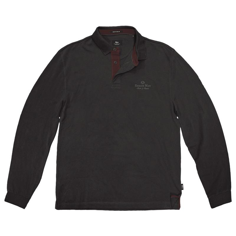Αντρική Μπλούζα REBASE RGS-36 Μαύρη