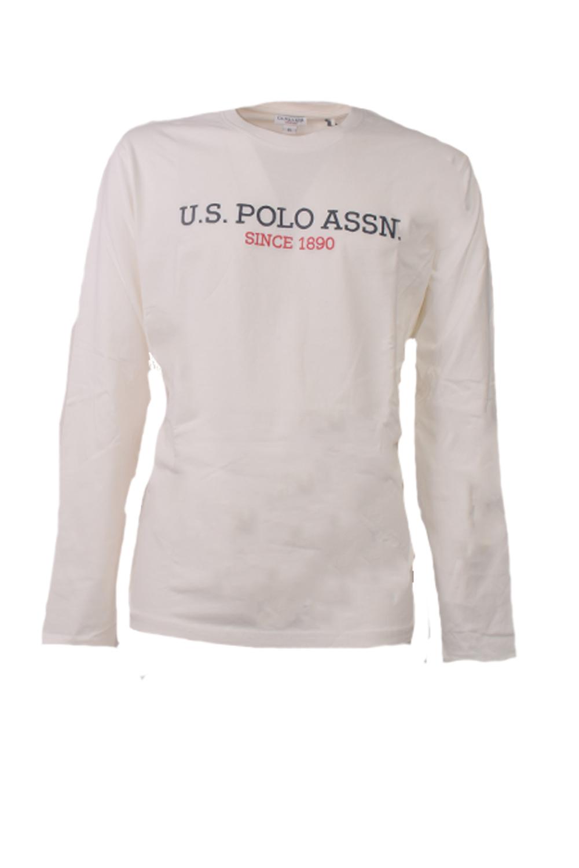 Ανδρική Μπλούζα U.S. POLO ASSN. 5926134502-101 Ασπρη
