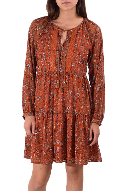 Γυναικείο Φόρεμα PASSAGER 78198 Πορτοκαλί