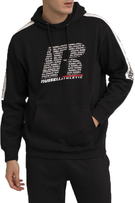 Ανδρικό Φούτερ RUSSELL A0-078-2-099-IO Μαύρο