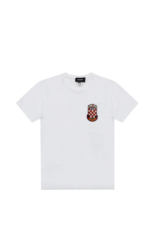 Ανδρική Μπλούζα DSQUARED2 S74GD0722 Άσπρο