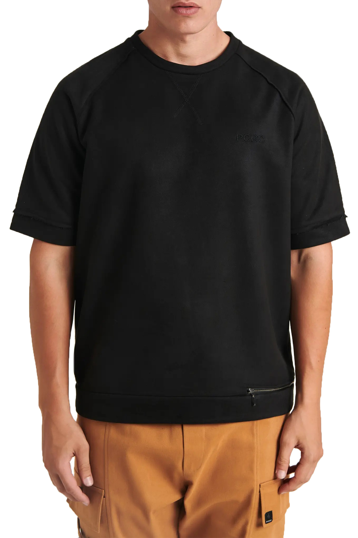 Ανδρική Μπλούζα P/COC P-1118 Μαύρο