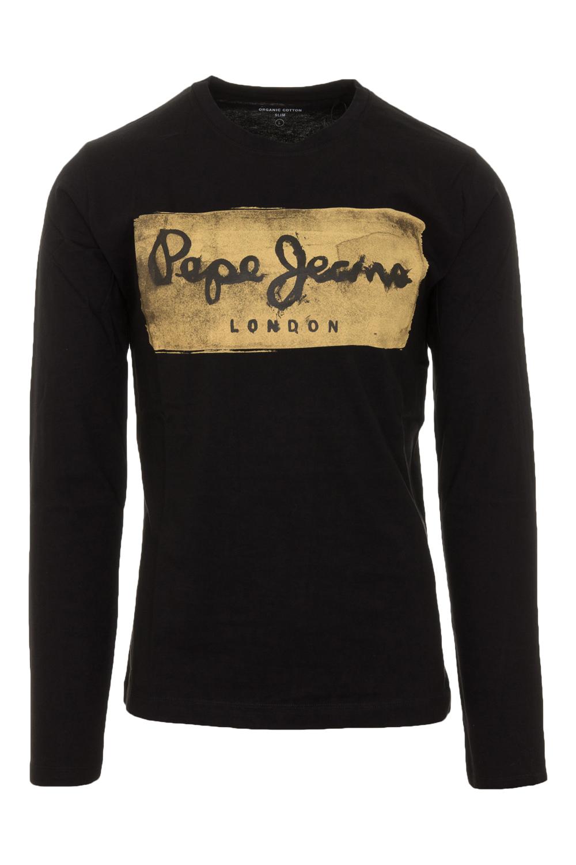 Ανδρική Μπλούζα PEPE JEANS PM503484-999 Μαύρο