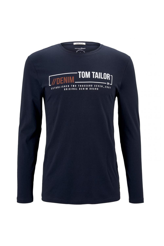 Ανδρική Μπλούζα TOM TAILOR 101021695.00.12 Navy