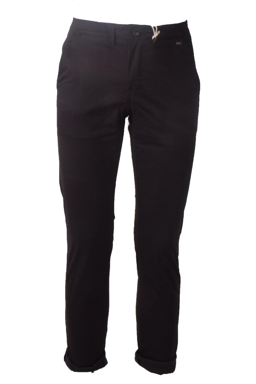 Ανδρικό Παντελόνι EXPLORER 2011108013 Μαύρο