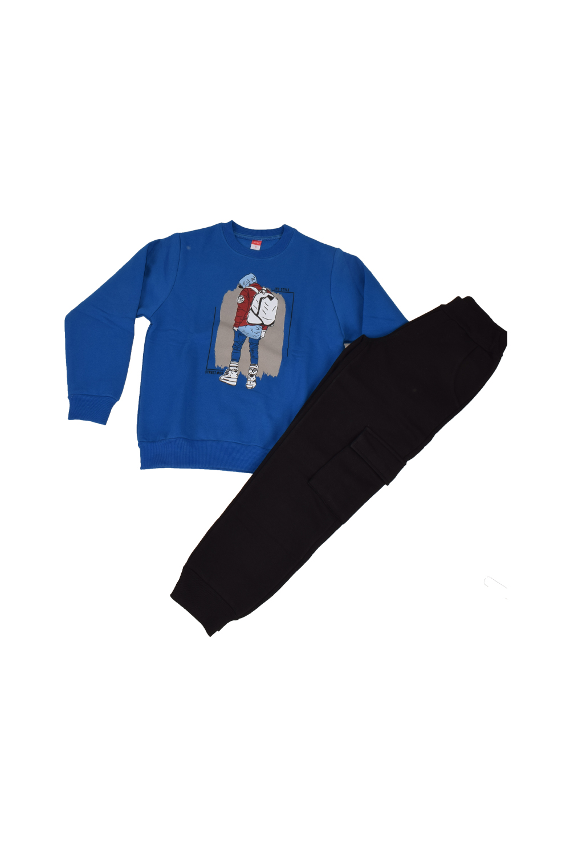 Παιδικό Σετ Φόρμα Για Αγόρι 202423 Μπλε