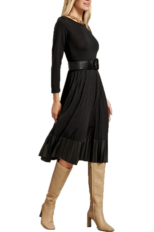 Γυναικείο Φόρεμα DERPOULI 1.20.25811 Μαύρο