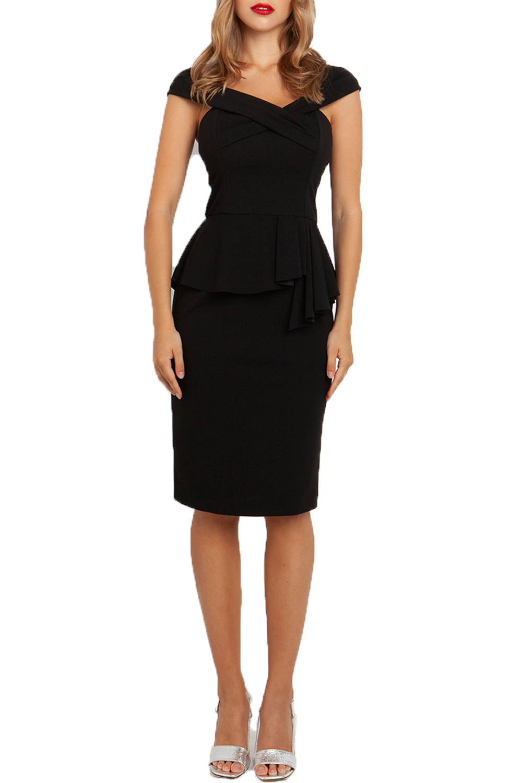 Γυναικείο Φόρεμα DESIREE 08.33015 Μαύρο