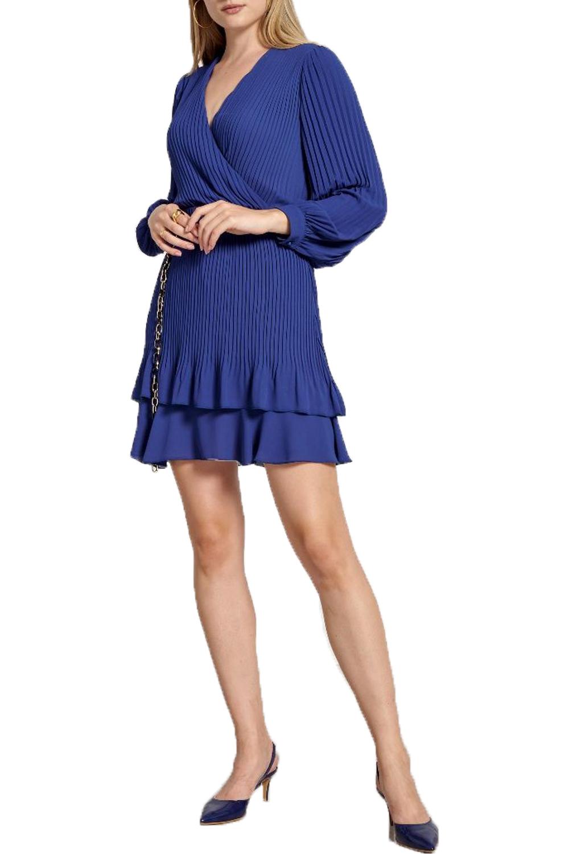 Γυναικείο Φόρεμα NADIA CHALIMOU 70124 Μπλε Ρουά