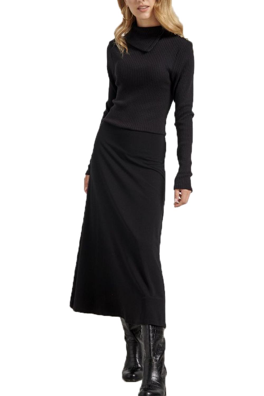 Γυναικείο Φόρεμα NADIA CHALIMOU 70212 Μαύρο