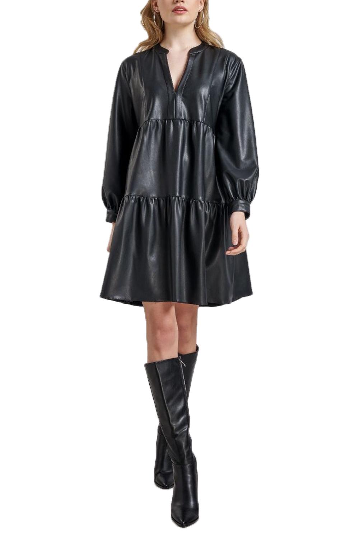 Γυναικείο Φόρεμα PASSAGER 70119 Μαύρο
