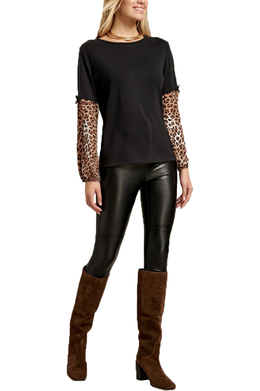 Γυναικεία Μπλούζα DERPOULI 1.10.25888 Μαύρο