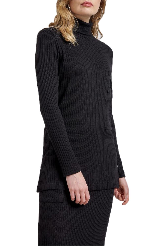 Γυναικεία Μπλούζα NADIA CHALIMOU 40234 Μαύρο