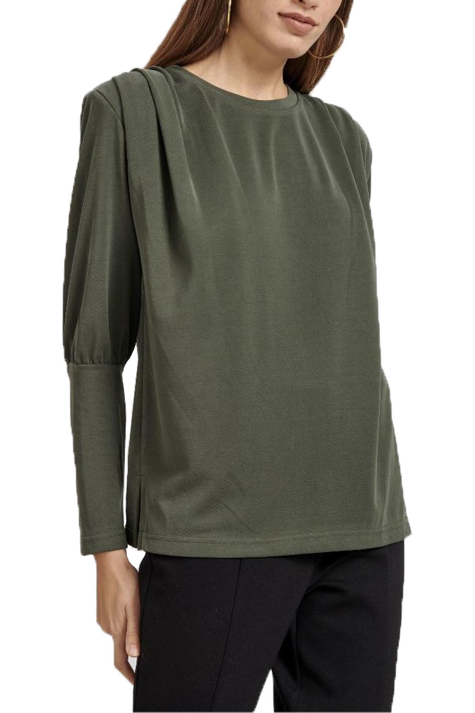Γυναικεία Μπλούζα NADIA CHALIMOU 40256 Χακί