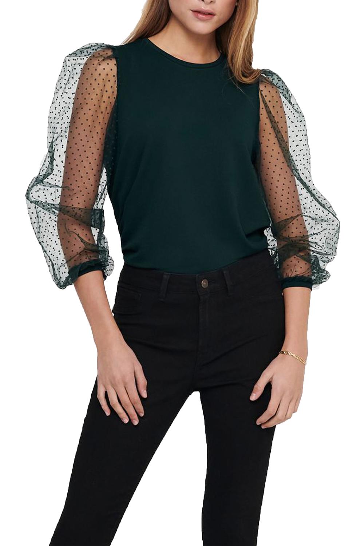 Γυναικεία Μπλούζα ONLY 15216514 Πράσινο