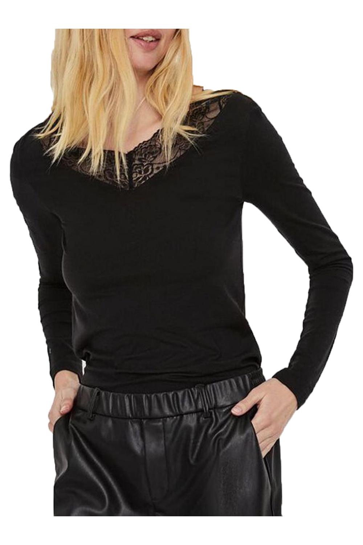 Γυναικεία Μπλούζα VERO MODA 10238393 Μαύρη