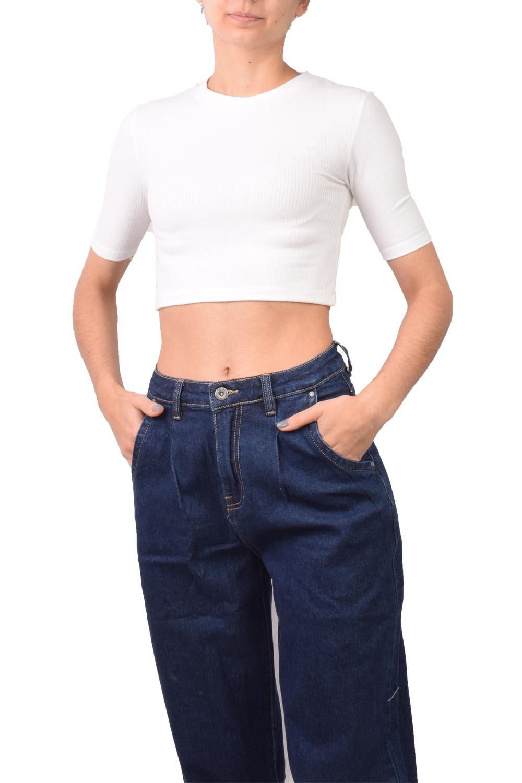 Γυναικεία Μπλούζα 22556 Άσπρη