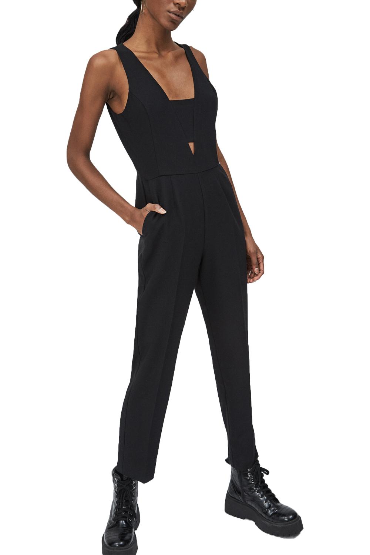 Γυναικεία Ολόσωμη Φόρμα PEPE JEANS PL230319-999 Μαύρη