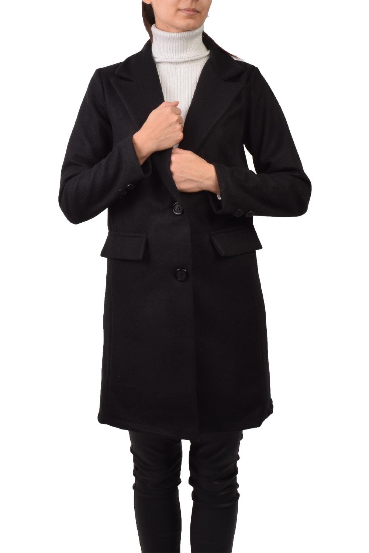 Γυναικείο Παλτό 59100 Μαύρο