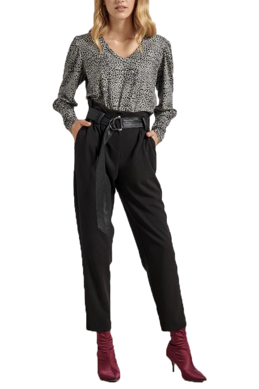 Γυναικείο Παντελόνι PASSAGER 20025 Μαύρο