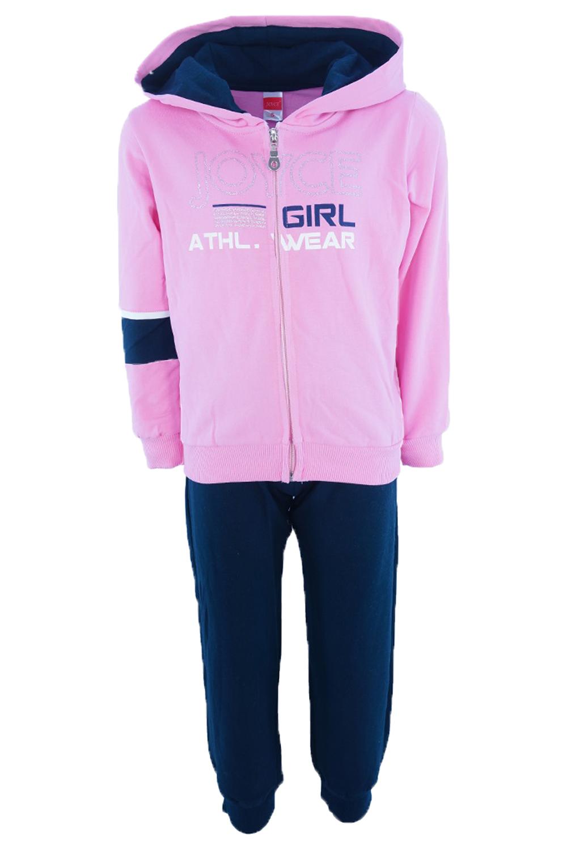Παιδικό Σετ Φόρμα Για Κορίτσι JOYCE 202100 Ροζ