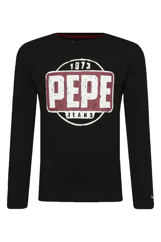 Παιδική Μπλούζα Για Αγόρι PEPE JEANS PB503005-999 Μαύρο