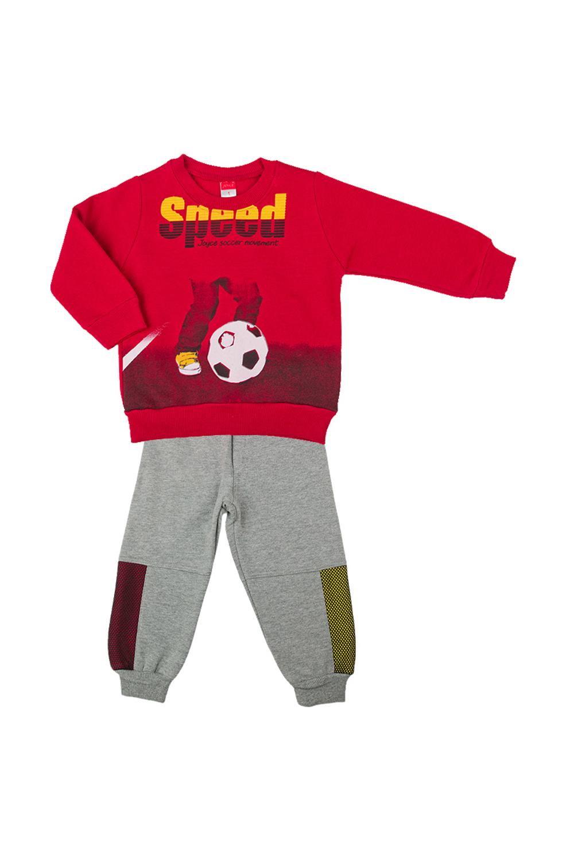 Παιδικό Σετ Φόρμα Για Αγόρι JOYCE 202217 Κόκκινο